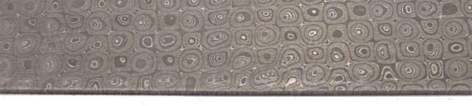 Raindrop Pattern Damascus